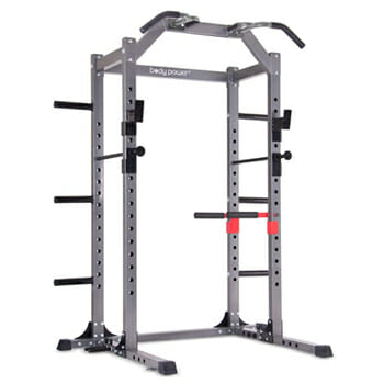Body Power Deluxe Squatting Rack Cage