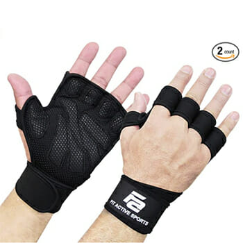 Fit Active Ventilated Weight Lifting Gloves