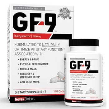 GF-9 HGH Boosting Supplement