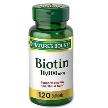 Nature's Bounty Biotin Supplement