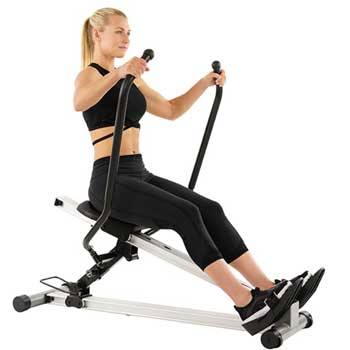 Sunny Health & Fitness Incline Rowing Machine