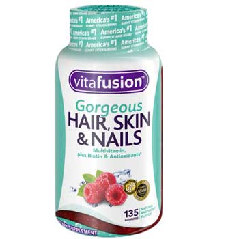 Vitafusion Gorgeous Hair, Nails, & Skin Multivitamin Gummy Vitamins