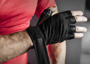 Weightlifting Glove Support