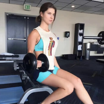 amanda cerny weights