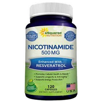 eSquared Nutrition Nicotinamide with Resveratrol