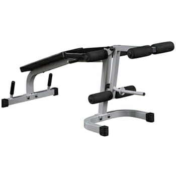 Body-Solid Powerline Leg Extension and Curl Weight Machine