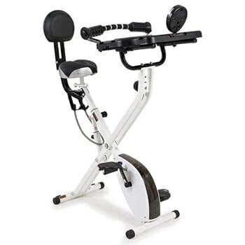 FitDesk Folding Exercise Bike and Workstation