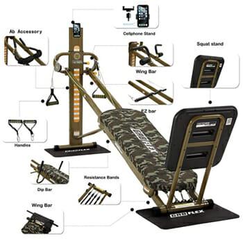 GR8FLEX Military Gym