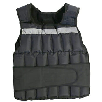 GoFit Papped Adustable Weighted Vest