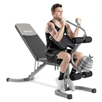 Merax Utility Weight Bench with Leg Extension
