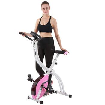 Pleny Foldable Upright Stationary Bike