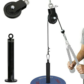 SYL Fitness LAT Cable Pulley System