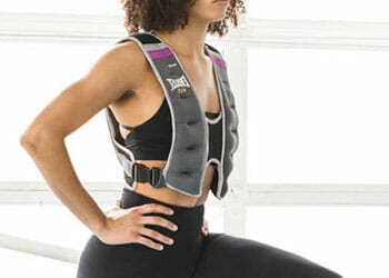 wearing a weighted vest