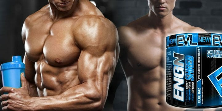 ripped men with evlution