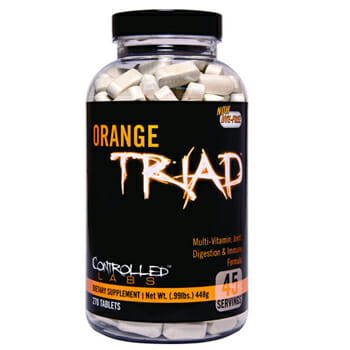 Controlled Labs Orange Triad Daily Multivitamin