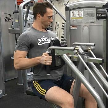 Single arm machine row