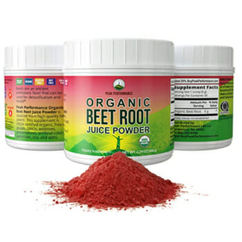 Peak Performance Organic Beet Root Juice Powder