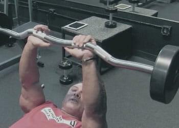 close grip bench press