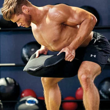 Bent Over Row with a Sandbag