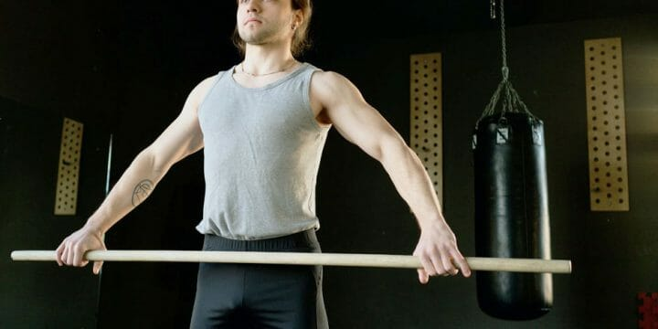 Different Kinds of Workout with Body Bar