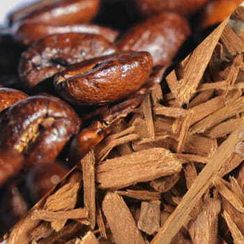 Coffee Beans and Yohimbe Bark
