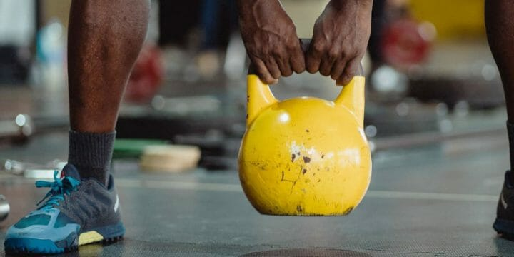 Back Workout with Kettle Bell