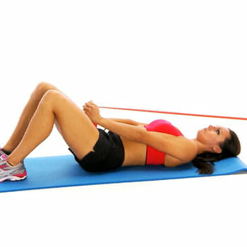 woman pull over workout