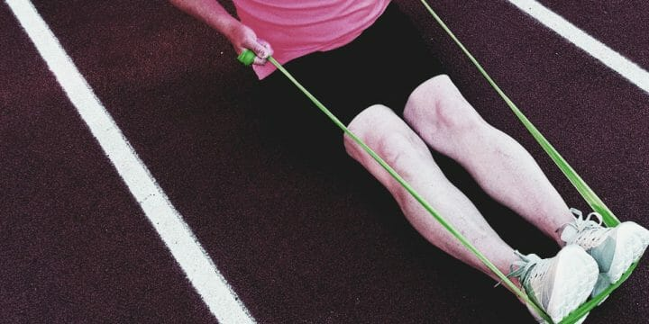 Shoulder Exercise with Resistance Band
