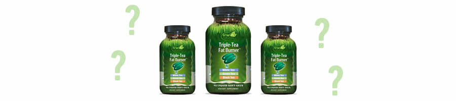 triple tea fat burner products and question marks