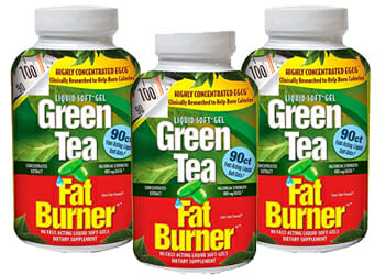 applied nutrition green tea fat burner package