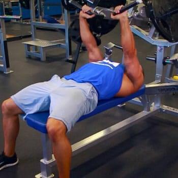 man doing Hammer Strength Chest Press