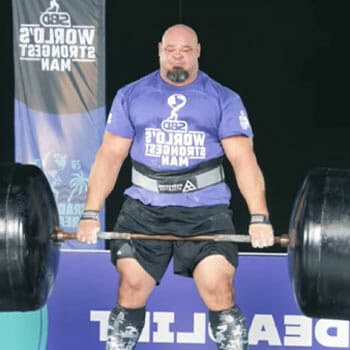 brian doing one of the heaviest deadlifts
