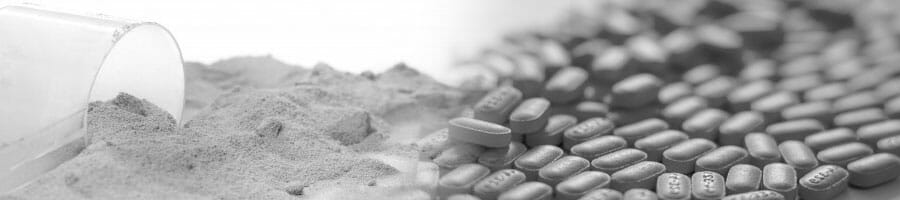 powder and pills
