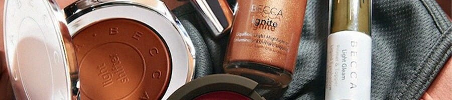 Different variety of BECCA products
