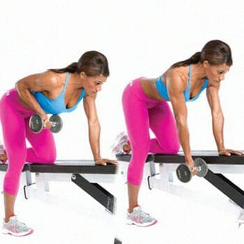 Bent Over Single Arm Rows Training