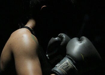 Your self defense skills will improve when you're boxing