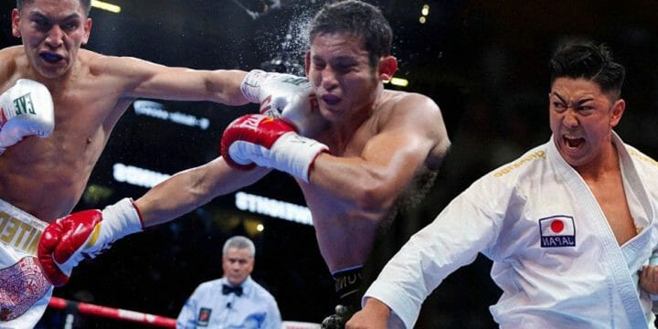 Difference between boxing and karate