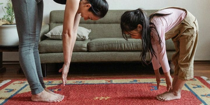 The recommended time you should hold a stretch