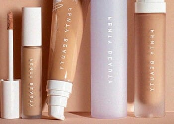 A collection of a known brand's beauty products