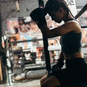 Boxing helps improve your mood and balance your female hormones