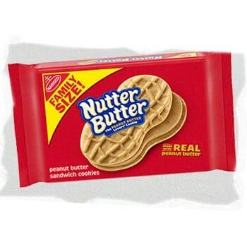 Ingredients of Nutter Butter Bites