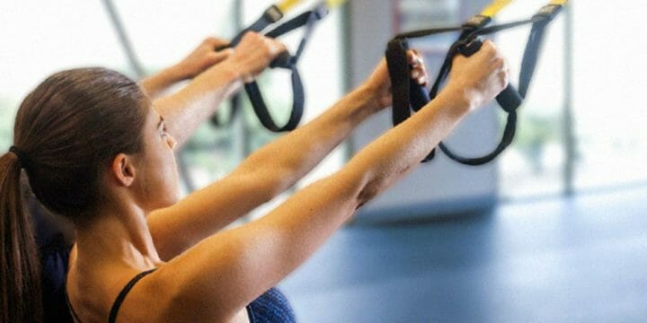 Back Exercises for TRX workout