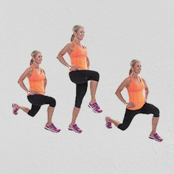 Walking Lunges exercise
