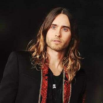 jared leto wearing a suit and tie
