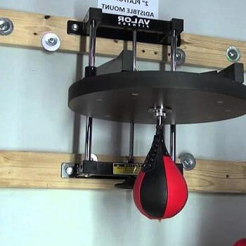 wall mounted speed bag