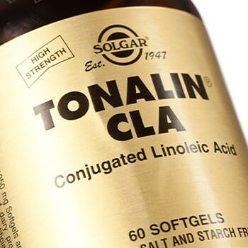 Close up photo of CLA label