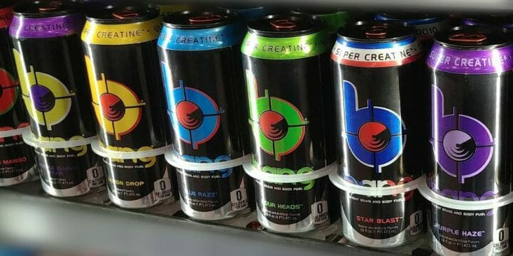 your guide to bang drinks with super creatine
