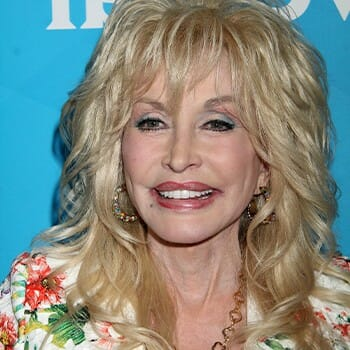 Close up photo of Dolly Parton