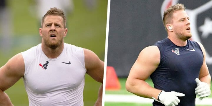 your guide to JJ Watt's body care routine