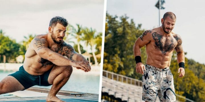your guide to matt fraser's body care routine